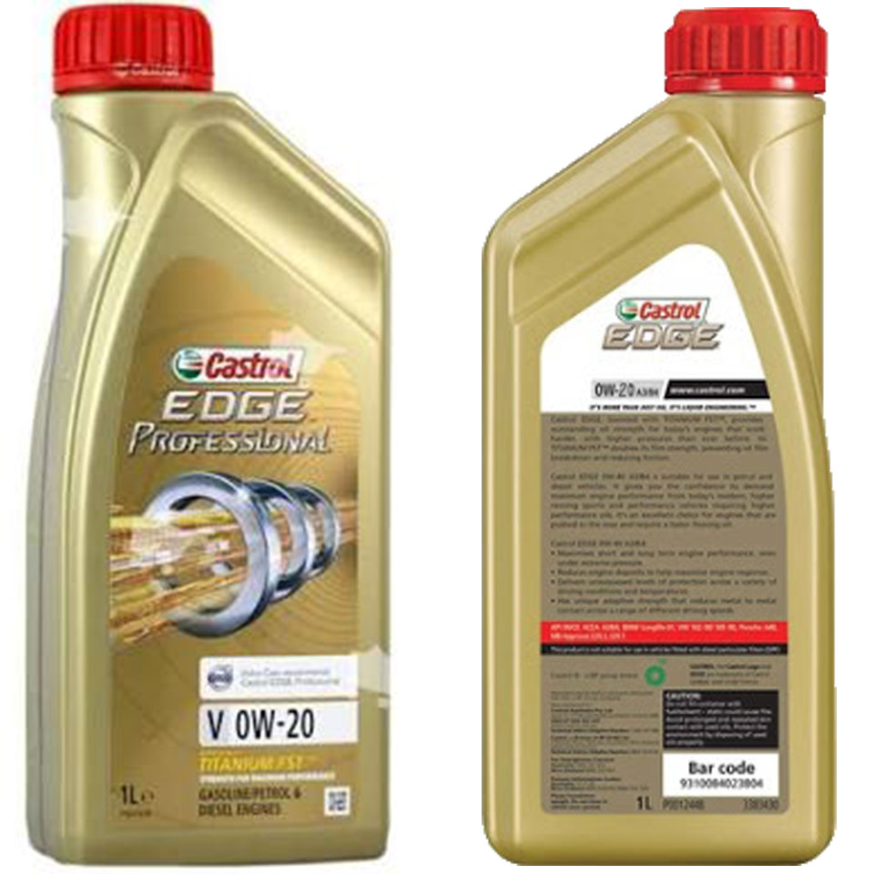 Castrol Edge Engine Oil 0w 20 1l Win Star Australia